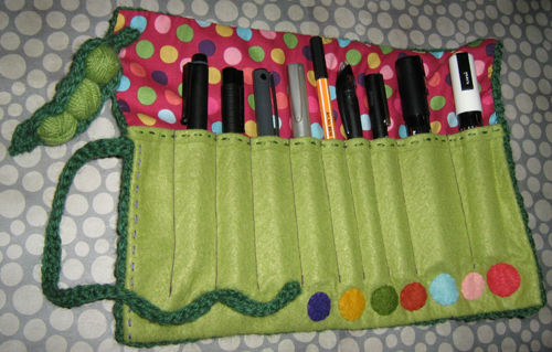 trousse depliee red