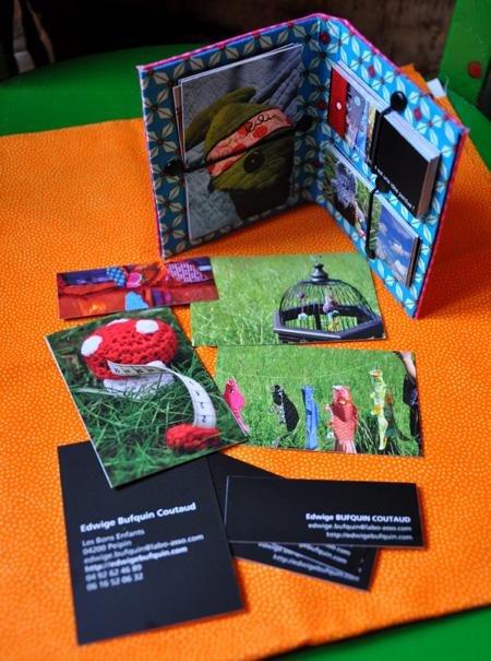cartes et pochettes red