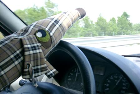 maurice en voiture