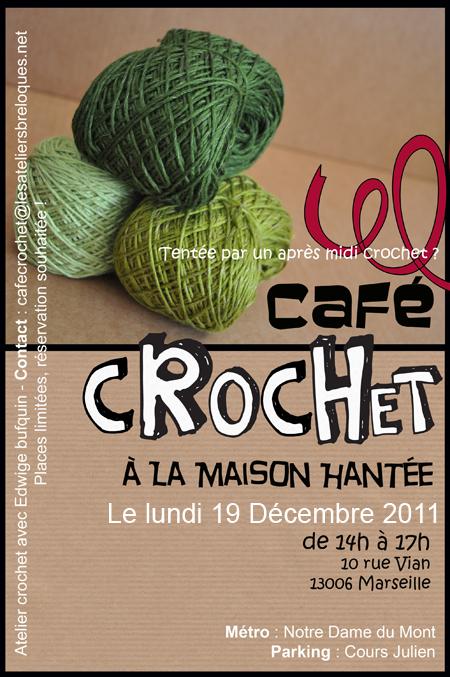 café crochet lundi 19 décembre