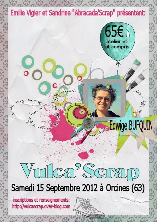 Affiche Vulca'scrap 2012