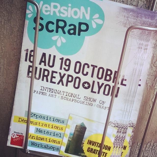 Des invitations pour Version Scrap Lyon !