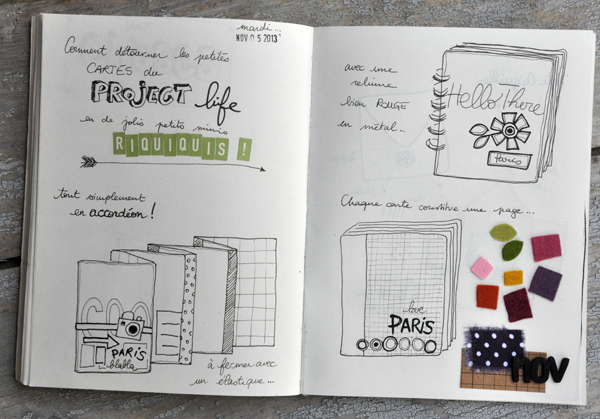 Mes carnets et mes crayons ... #1 !