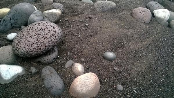 Les Pieds sur une île #minéral ...