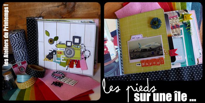 Les Pieds sur une île # l'album 1 ...