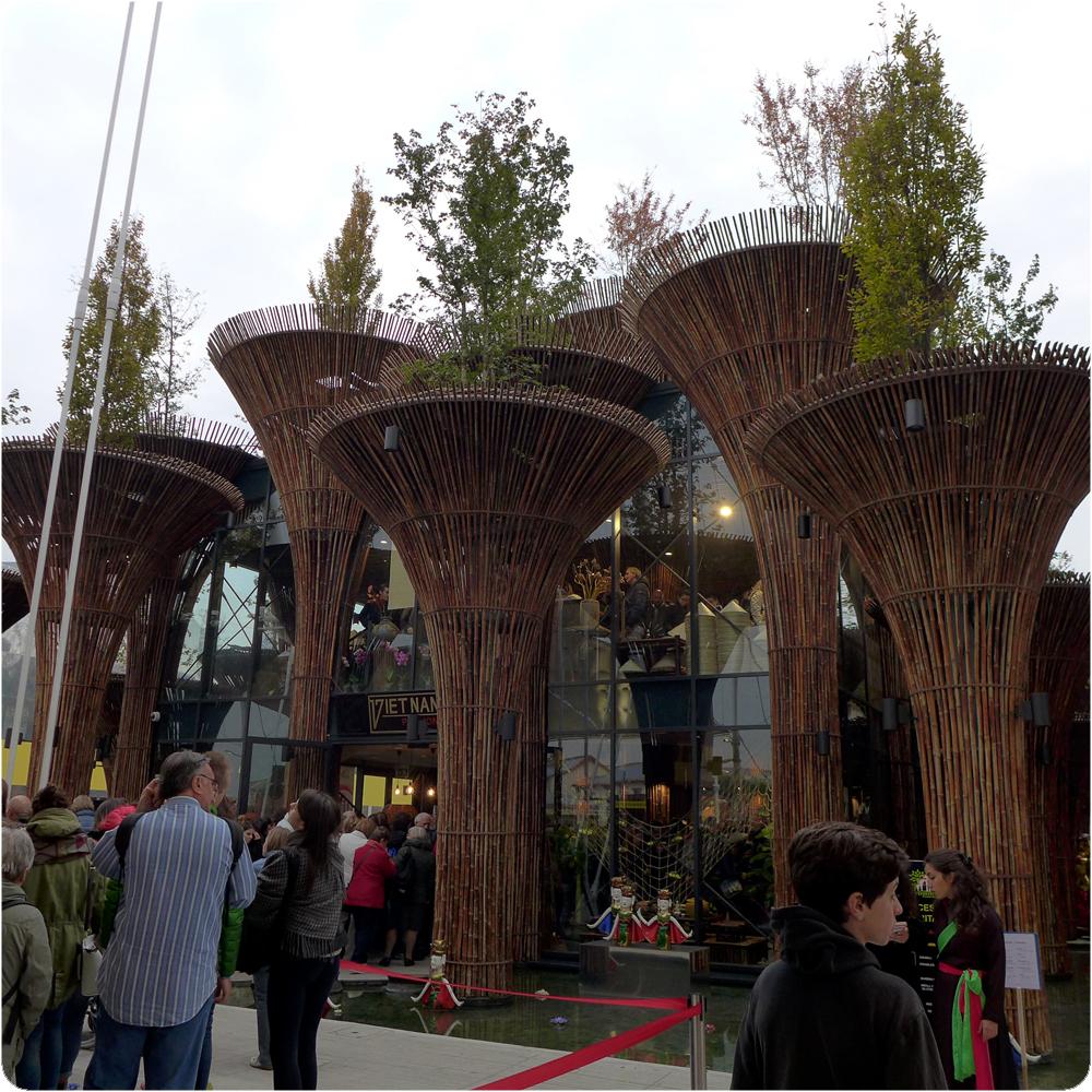 Pavillon du Vietnam - Exposition Universelle, Milan Octobre 2015