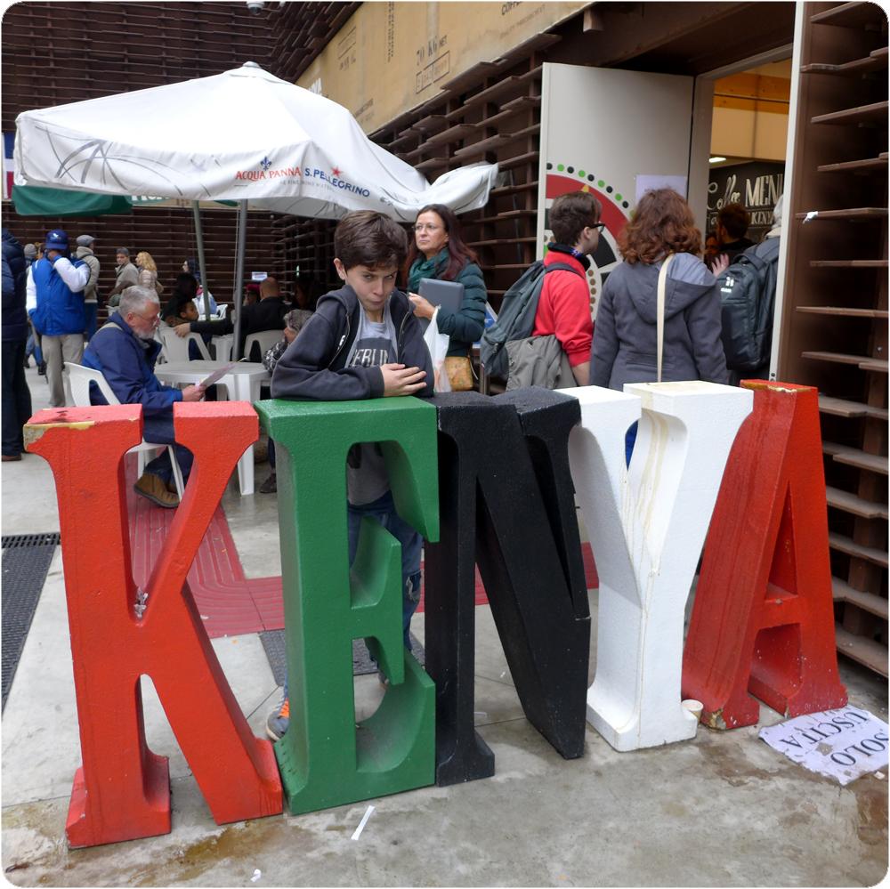 Pavillon du Kenya - Exposition Universelle, Milan Octobre 2015